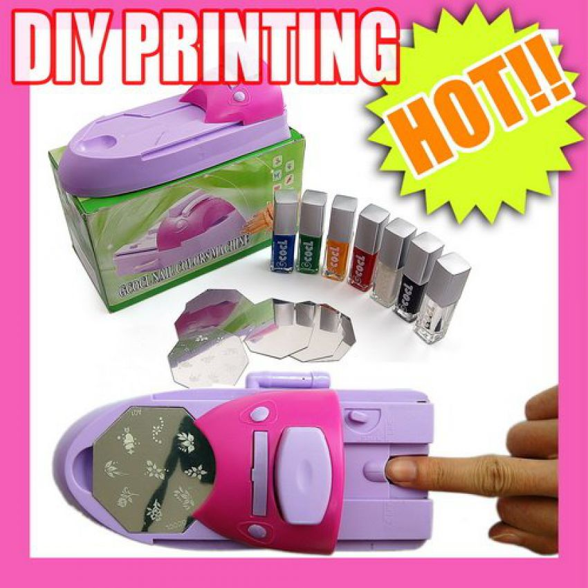 Surprising Nail Art Design Stamping Machine