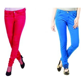 2 Export Quality Ladies Jeans Combo
