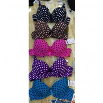 PACK OF 3 POLKA DOT BRA