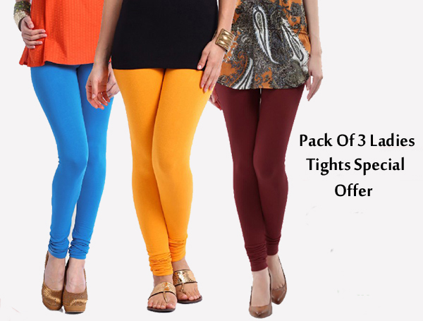 Pack Of 3 Ladies Tights Special Offer