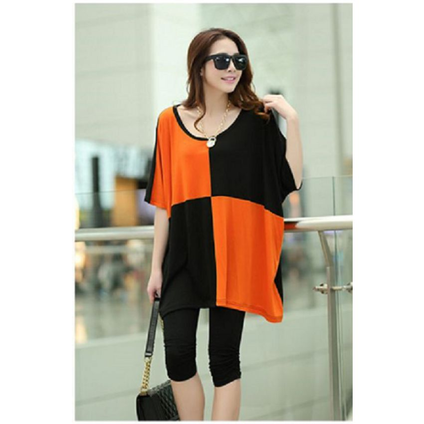 Summer Scoop Neck Top for Women