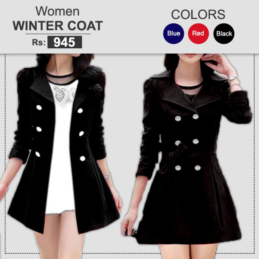 1 WINTER COAT FOR WOMEN
