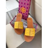 Women Fancy Slipper Yellow and Brown