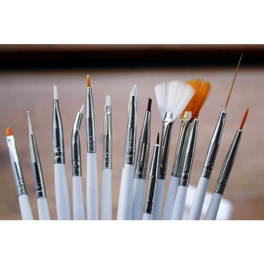 Nail Art Brushes-15 pcs