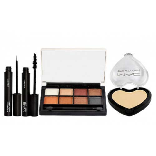 MAC 4 In 1 Makeup Kit  8 Color Eyeshadow Palette