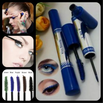 KISS Beauty 2 in 1- Mascara Eyeliner
