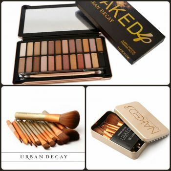 Naked 4 Kit with Naked 3 Brush Pack