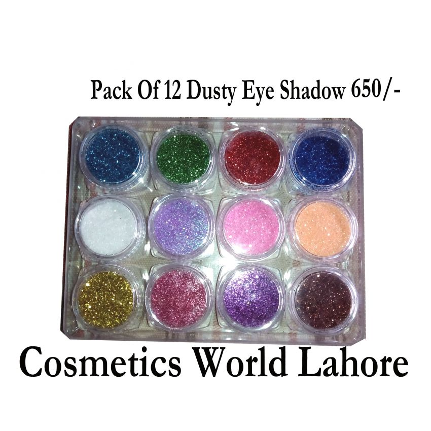 Pack of 12 Glitter Eye Shadow kit
