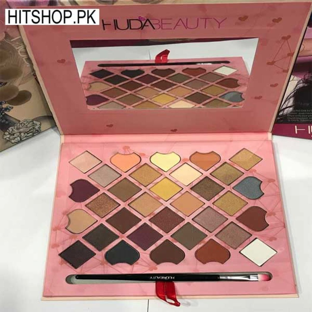 Huda Beauty 32 color New Eye Shadow Palettes