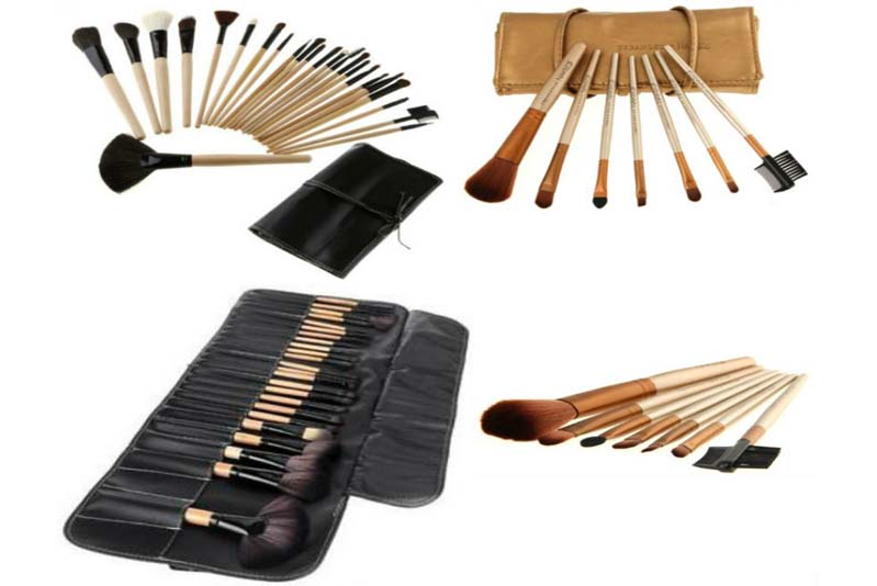 Pack of 31 Makeup Brushes