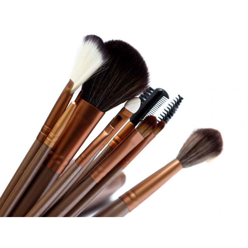 Naked 3 (12pcs) Brushes Set with Free Naked 3 Pouc