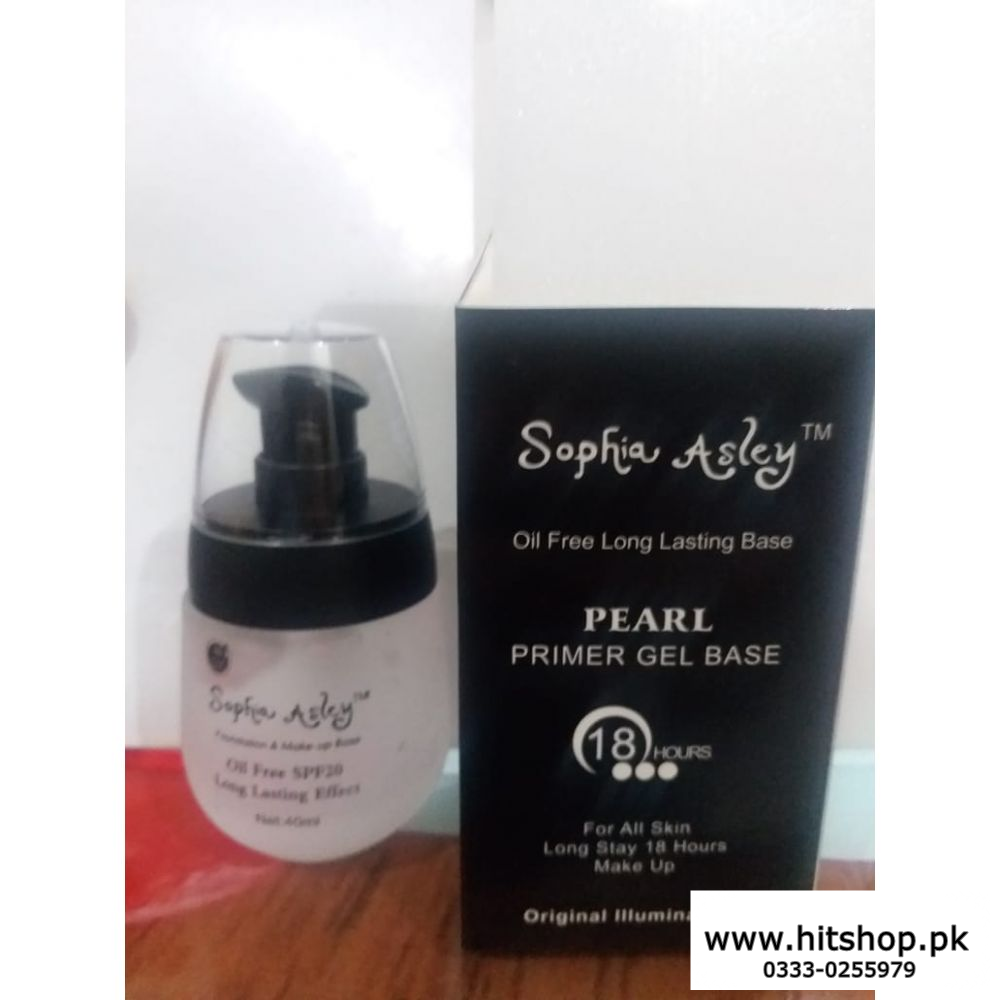 18 Hours Pearl Primer Gel Base - Oil Free Long Lasting