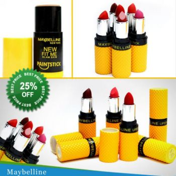 Pack of 10 Maybelline Lipstick 1 Free Maybelline P