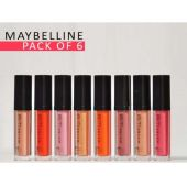 Bundle Offer Pack Of 6 Maybelline New York Lip Glo