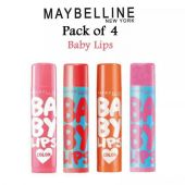 Maybelline Pack Of 4 Babylips
