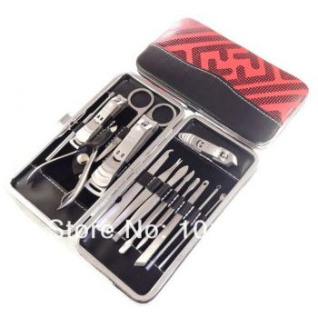 14 In 1 Manicure Nail Clipper Kit Pedicure Ear Pic