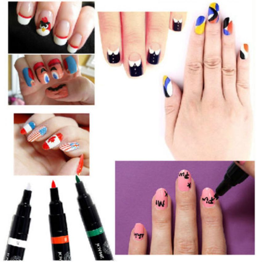 Nail art pens set in pakistan hitshop nail art pens set nail art pens set prinsesfo Images