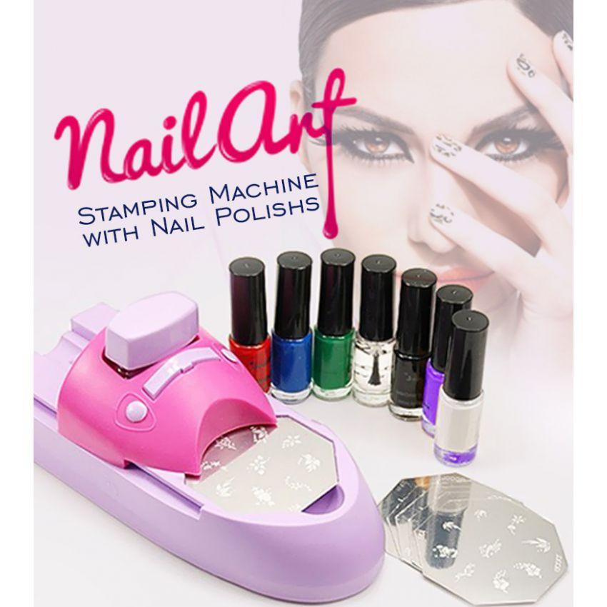 Nail Printing Machine Art Stamping Amazing