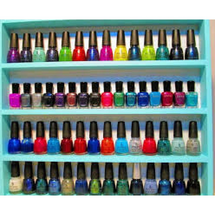 (16) nail polish color's with free remover