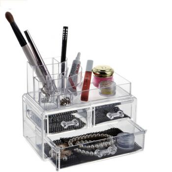 Makeup Drawer Case Organizer