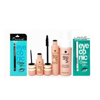 Pack Of 3 Lakme 9 To 5 Product Free 2 Lakme Kajal
