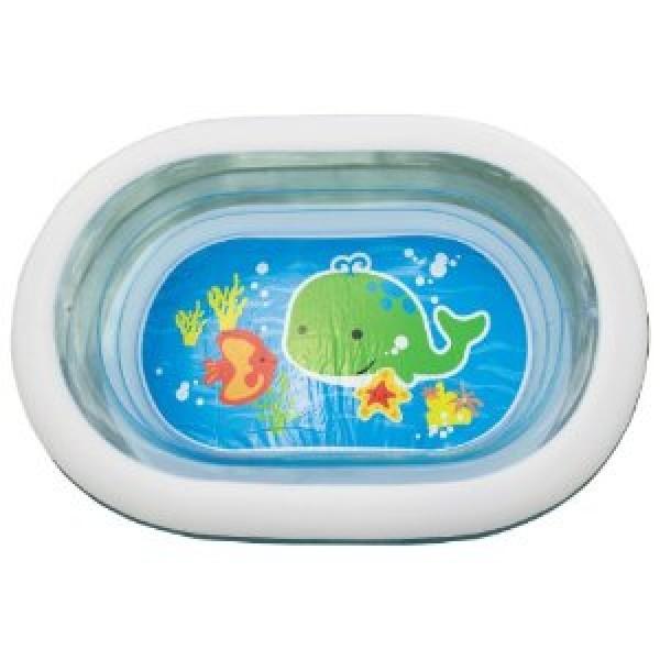 Бассейн детский надувной овальный 'Oval Whale Fun Pool', Intex 57482NP