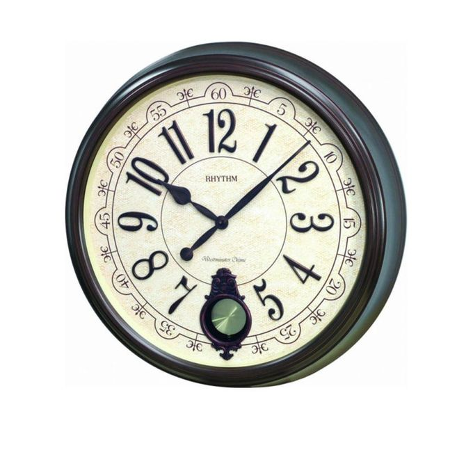 Rhythm Japan (Sound In Place) Wall Clock -Japan-