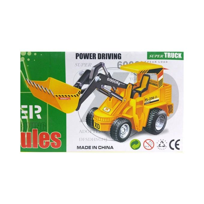 Wire Control Shovel Truck For Kids - Orange