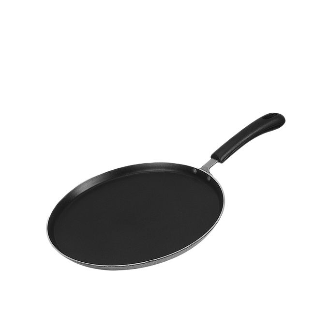 2 in 1 Lipid Tawa & Fry Pan - 30 cm - Black