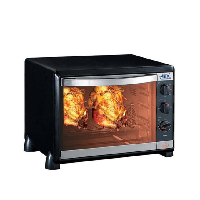 Anex AG-2070 BB - Oven Toaster - Black