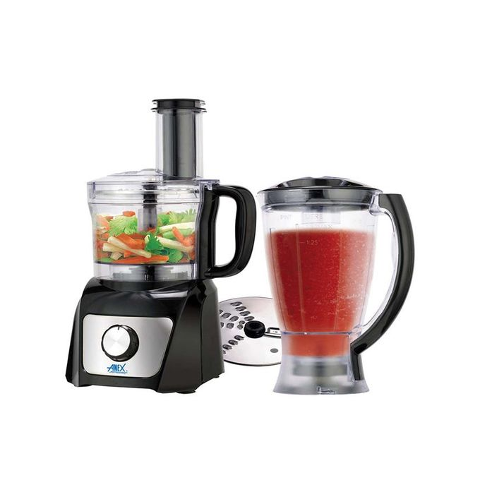 Anex Chopper With Blender - AG-3045 - Black