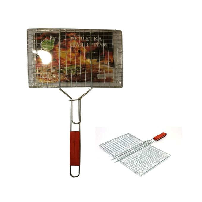 Bar B Q Stainless Steel Hand Grill Medium - SA