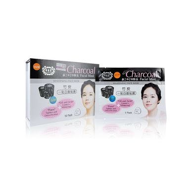 Charcoal Facial Mask Box
