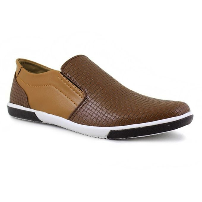 Comfortable Mens MUSTARD Causal Shoes