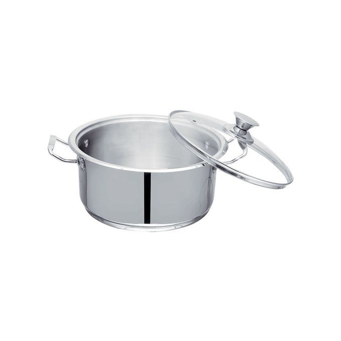 Cooking Pot Silver