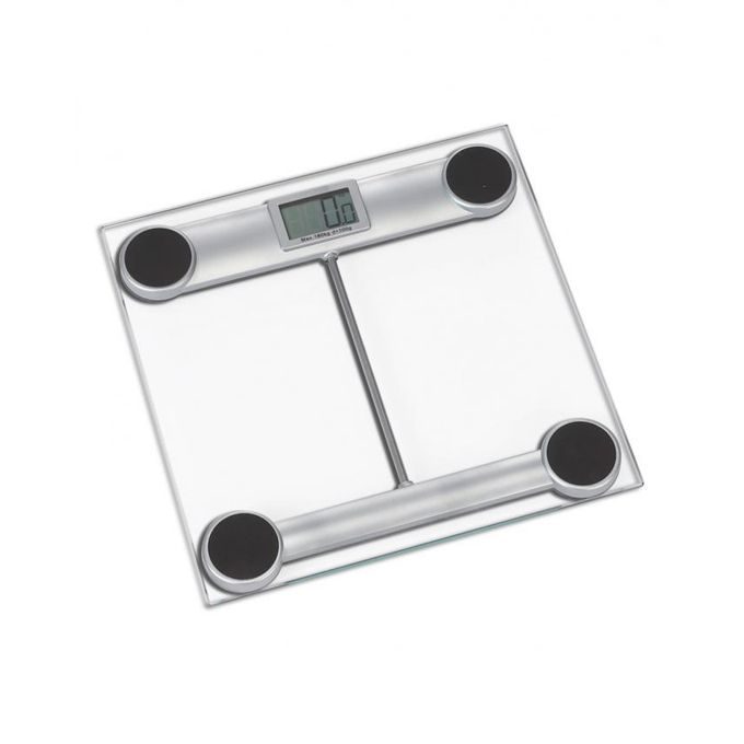 Digital Body Weight Glass Scale - GS 807 - White