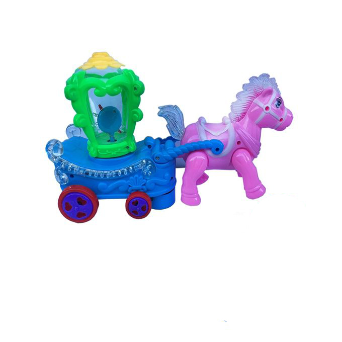 Horse Drive Carriage Toy