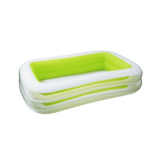 Intex Inflatable Pool - Light Green & White