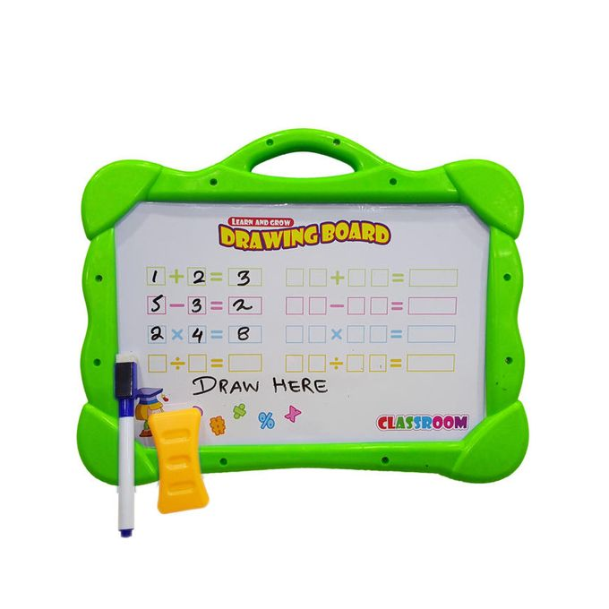 Magical Drawing Board with Magnetic Figures Plus D