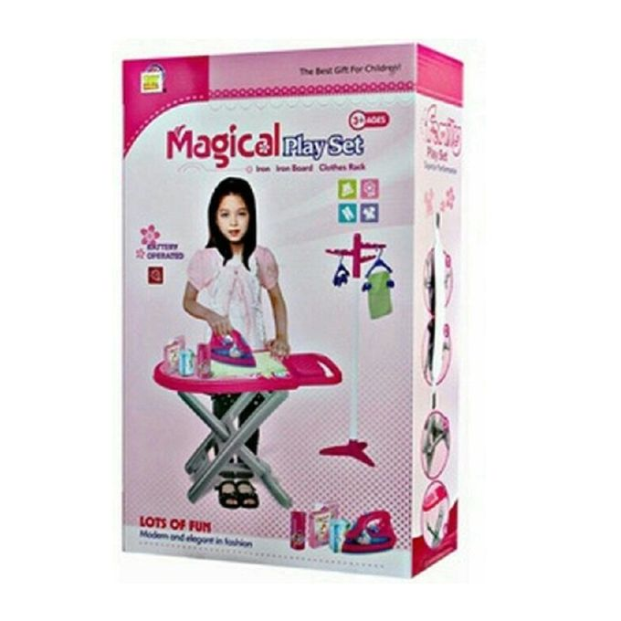 Magical Play Set Iron Board for Kids - Multicolor