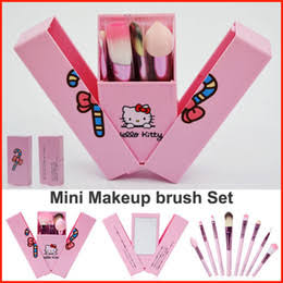 Mini Makeup Brushes Set