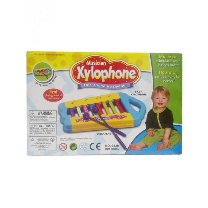 Musical Xylophone Multicolor