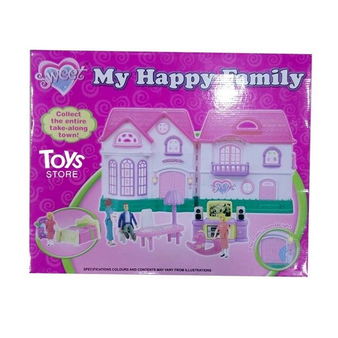 My Happy Family Doll House - Multicolor