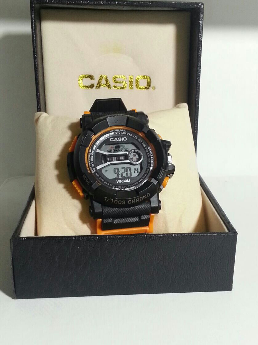 New CASIO Rubber Watch For Men