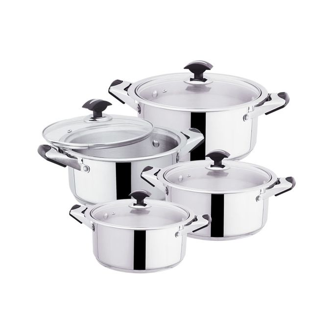 Pack of 4 Sonex Cooking Pots Set