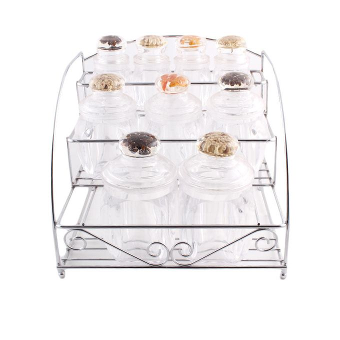 Pack of 7 Four Jar Set Stand