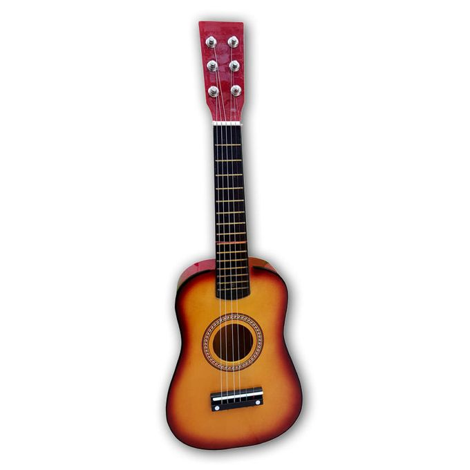 RockStar Manual Guitar For Kids - Wooden Color