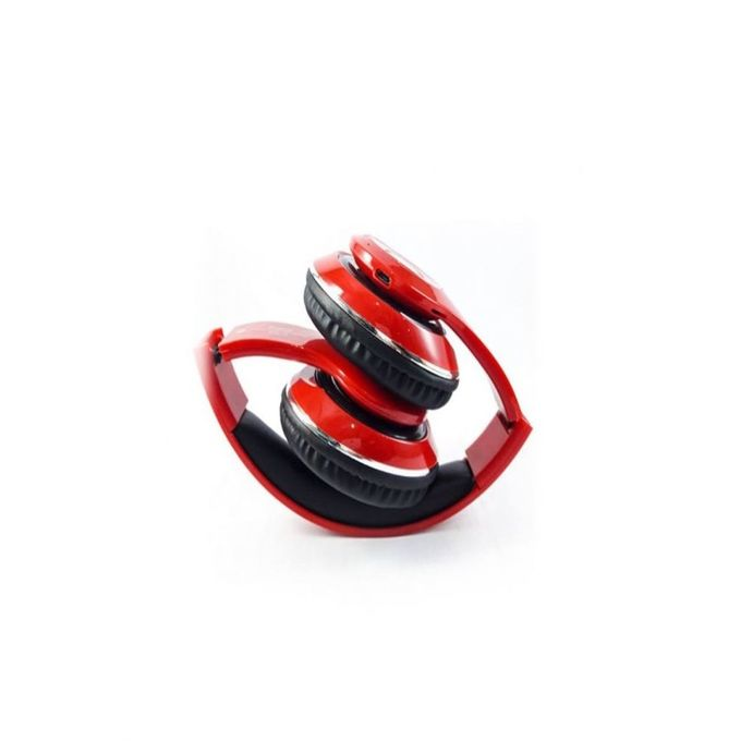 STN 16 - Stereo Wireless Headphones - Red