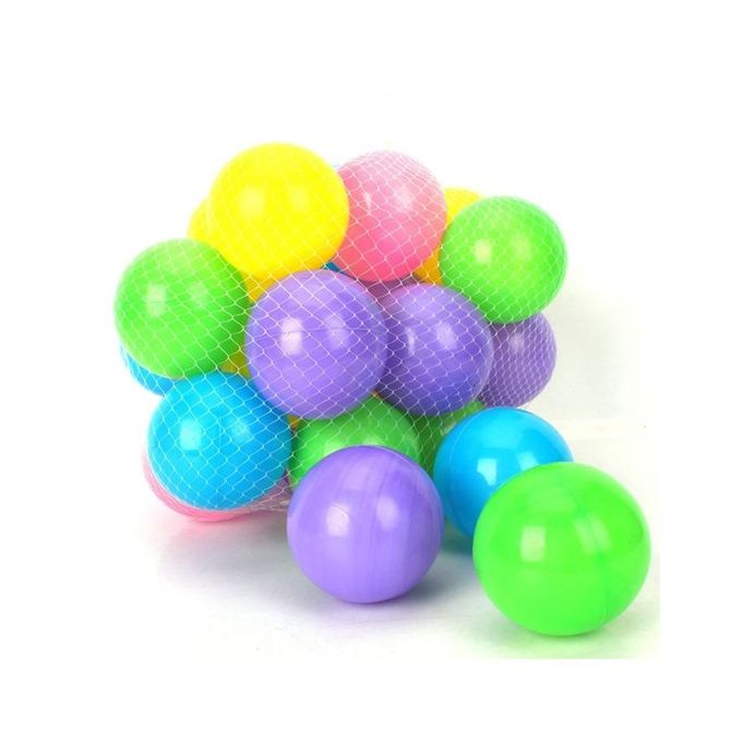 Soft Plastic Balls 25 Pcs Set Multicolour