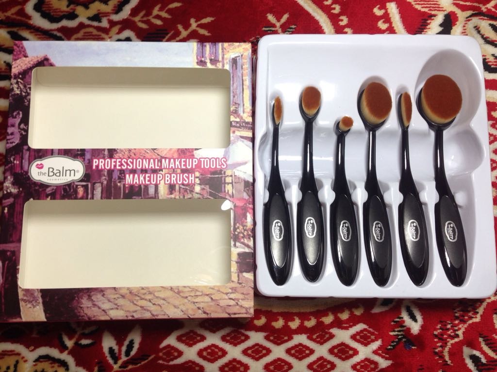 The Balm Professional Makeup Tools Makeup 6 Pcs Br